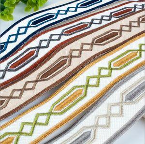 Nueva antigua almohada productos de la cama de encaje, encajes accesorios 39mm almohada cinta de encaje cortina de la cinta jacquard bordado de encaje decorativo