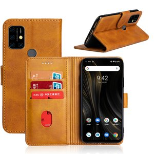 PU محفظة جلدية للحصول على غطاء UMIDIGI الطاقة 3 A3S F2 الغطاء الخلفي للهاتف حالة مع فتحة لبطاقة الهوية