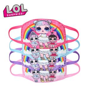 Nefes Anti-pus Toz koruyucu Çocuklar LOL Sürpriz Doll Yüz Maskeleri Yetişkin ve Çocuk Cosplay Maskeler Karikatür Maskeler Sağlık Protect Maske