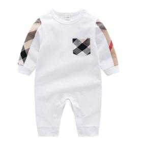 Autunno Inverno Moda Baby Boy vestiti a maniche lunghe Pagliaccetti Neonato neonato Baby Girl Abbigliamento Tuta Abbigliamento infantile