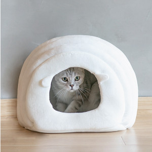 Inverno Dog House Dog dobrável gaiola Ninho do gato portátil Kennel confortável para Quente gato filhote de cachorro Pet Shop Acessórios Dog