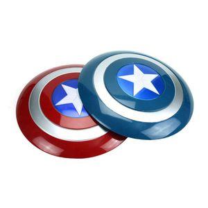 Avengers Alliance Series игрушка Капитан Америка косплей Prop Голос флэш Shield Держите Hero Safe As со светодиодной подсветкой