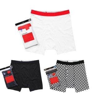 Vente chaude classique DUTAN 18SS Caleçon 100% coton femmes hommes confortable sous-vêtements de sous-vêtement uni