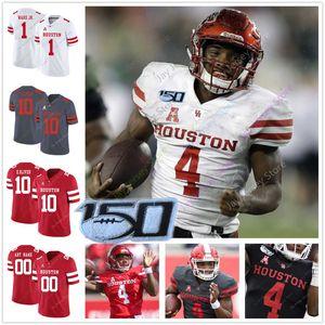 2020 Custom Houston pumas jersey del fútbol de la universidad de Grant 3 Stuard 31 Derek Parish 21 Patrick Carr 34 Mulbah coche 8 Chandler Smith