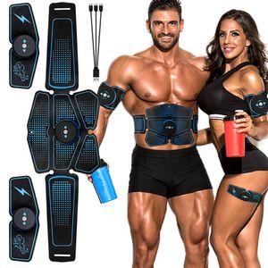 SME addominale Cintura elettrostimolazione ABS stimolatore muscolare Hip muscolare Trainer Toner apparecchiatura domestica di ginnastica Fitness Donna Uomo