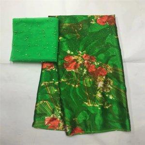 Африканский мягкой шелковой ткани для одежды аккуратные вышивки на золото фиолетовый атласный материал с швейцарский шнурок маркизета ткани LXE111521