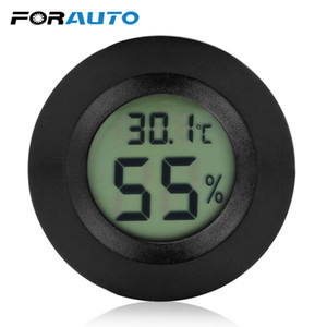 10 pzforauto 2 in 1 lcd digitale termometro igrometro auto ornamenti automobili Dashborad decor interni accessori auto-styling C19041201
