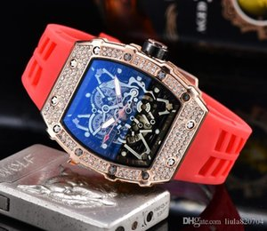 In 2020 the new skull sports watch set auger men's and women's leisure fashion quartz watch