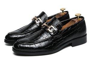Sivri Burun Erkek Elbise Ayakkabı Hakiki Deri Lüks Düğün Ayakkabı Çiçek Baskı Erkekler Flats Ofis düğün Örgün 38-46