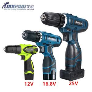 12V 16.8V 25V Volt tournevis multifonctions batterie Accueil PERCEUSE outils électriques tournevis électrique Clé Y200321