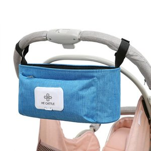 Stroller Hanging Bag Universal Parents Diaper Organizer Bag with Stroller Attachments Storage Container Large Capacity