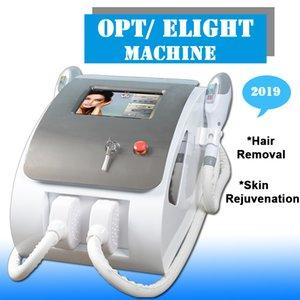 2021 NUEVA NUEVA Máquina de depilación láser SHR LASER IPL Removedor de cabello permanente Rejuvenecimiento de la piel con 2 * 300,000 tiros