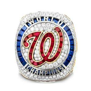 2020 al por mayor de Washington, 2019 -2020 Nacionales de la Serie Mundial regalos campeonato del equipo de béisbol de Campeones anillo TideHoliday de amigos