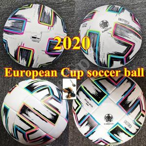 Top qualidade tamanho European Cup 4 bola de futebol tamanho 2020 final KYIV PU 5 bolas grânulos antiderrapante futebol transporte livre bola alta qualidade