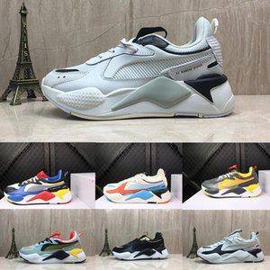 Men And Women Do The Old RS-X Reinvention Leather & Mesh Breathable Running Shoes RS X Reinvention Running System Athletic Shoes