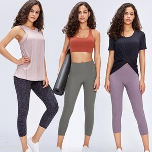 Bauch-Steuer Nahtlose Fitness Workout-Gamaschen-Frauen mit hohen Taille Squatproof Sport Gym Compression Tights Yoga Pants