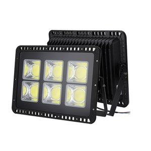 Faro de luz de inundación de 100W 200W 300W 400W 500W COB LED resistente al agua AC110V 220V LED Proyector Proyector reflector de la lámpara al aire libre