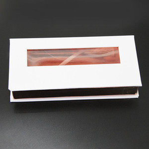 Magnetic Lashes Box mit Wimpern Tablett 3D Mink Wimpern Boxen falsche Wimpern Verpackung Kasten leeren Wimper Box