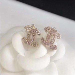 2020 G mujeres de la joyería de lujo de diseño de cuentas pendientes diamantes de imitación joyas de diseño para el prom noche muestran pendientes de alta calidad 10210
