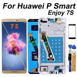 """5,65"""" Pour Huawei P intelligent G-LX1 LCD FIG-LX3 écran tactile avec cadre Digitizer Assemblée de remplacement pour HUAWEI Profitez 7S Affichage"""