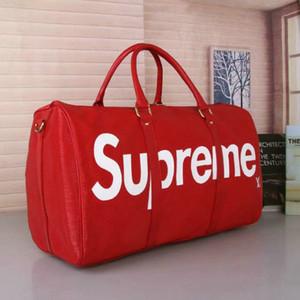2019 Grande capacidade dos homens das mulheres sacos de viagem famosa designer de venda clássica de alta qualidade dos homens sacos de ombro mochila continuar bagagem keepall