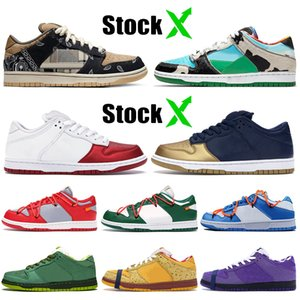 Nike Air Force 1 Sb Dunk Travis Scott Ben Jerrys Chunky Dunky supereme mujeres hombres zapatos casuales diseñador deporte zapatillas skate boardking