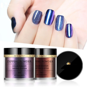 Nail accessories laser change color chameleon aurora mirror infiltrating phantom powder multi-color electroplating magic mirror powder