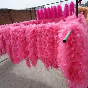 Bufanda de plumas nuevo llegan Glam aleta danza del vestido de lujo del traje de la boa de plumas accesorios abrigo de la bufanda Burlesque Can Can berlina