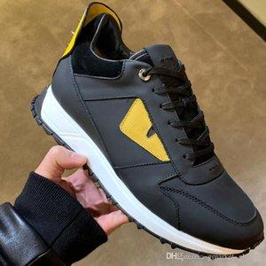 Nuovi Sneakers da uomo BAG BUGS SNEAKERS Designer di lusso Sneakers 7E09354R6F046W Scarpe con borchie da uomo Top Quality Size 39-45