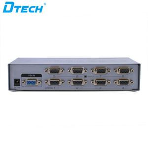 Sıcak öğe Bilgisayar monitörü güvenlik kamerası CCTV fiş ve 500MHZ HD 1080P oynamak 1 giriş 8 çıkış 8 port VGA video ayırıcı