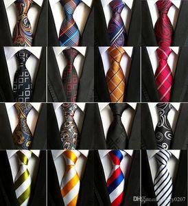 الأزياء 260 أنماط 8 سنتيمتر الرجال العلاقات الحرير التعادل رجل الرقبة العلاقات اليدوية الزفاف حزب بيزلي العنق الكلاسيكية العلاقات التجارية المشارب