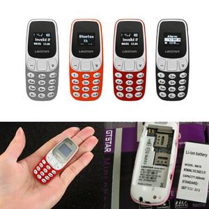 L8STAR Wireless Bluetooth Auricolare Dialer Mini BM10 Cellulare a mano doppia SIM Card Cellulare Magic Voice Ricevere chiamate