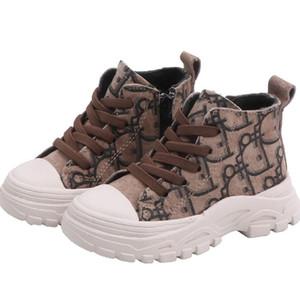 Moda scarpe bambino stivali bambini stivali bambino bambino Martin avvio originali pattini dei neonati in pelle scarpe stivali ragazzi delle ragazze di avvio di vendita al dettaglio
