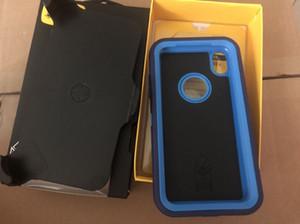 Defneder simmetria per iPhone 11Pro 11 6 6s X xr xs max per Samsung S8 S9 Nota 10 di alta qualità 8 in acciaio Armatura TPU PC riguarda i casi di Shell