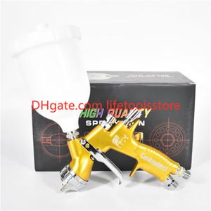 고품질 전문 Gti 프로 라이트 황금 그림 총 TE20 / T110 1.3mm 노즐 스프레이 총 페인트 총