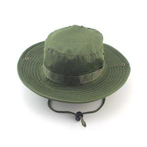 pesca de verano Camo pescador ocasional de cubo que acampa yendo de viaje de montañismo sombrero sombrilla sombrero Bonnie Para las mujeres el hombre