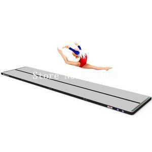Kostenloser Versand Airtrack 4m * 1m * 0.1m aufblasbare Gymnastik Air Track Tumbling Mat Air Tumbling Bodenmatten für den Heimgebrauch, Strand, Park und Wasser