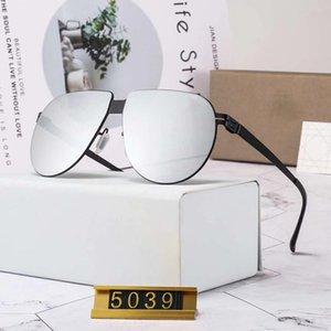 Lunettes de soleil d'été de plage Lunettes de soleil mode pour homme de verre Pas Vis Super Light Nylon Matériau Aiti pression UV400 Adumbral D5039