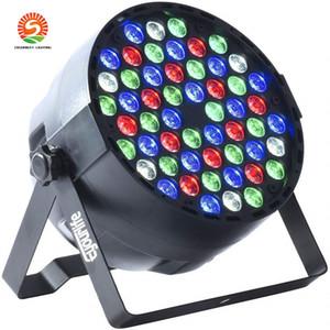 Yeni Sale 54x3w Su geçirmez Açık RGBW LED Par lambalar IP65 DMX512 Profeesioal Sahne Disco DJ Ekipmanları