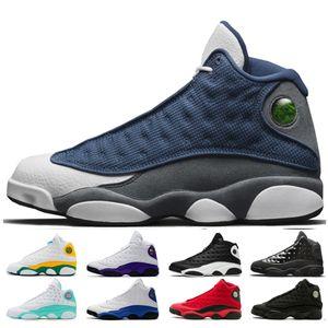 erkekler kadınlar 13 13s Flint baksetball ayakkabı Beyaz Yeşil Pembe Playground süzülmek Aşk Luky YEŞİL eğitmenleri kadın ayakkabılar 36-47 sneaker mens nedir