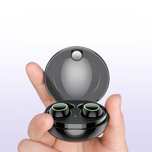Écouteurs intra-auriculaires Bluetooth 5.0, Écouteurs intra-auriculaires étanches IPX7 avec micro et étui de chargement