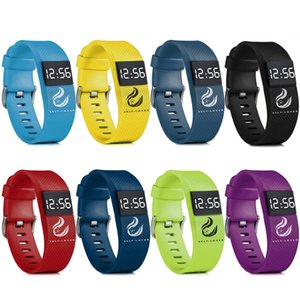 Fashion Digital LED Sports Watch Unisex Silicone Candy Band LED Waterproof Wrist Watches Newest Bracelet For Men Women