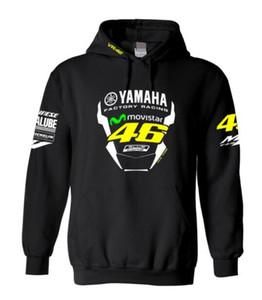 YAMAHA Felpa con cappuccio calde e caldo Wear Yamaha Racing Moto tratti in discesa Fleece Felpa
