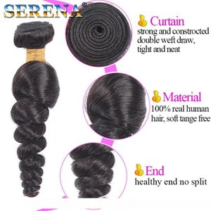 M 8a Malaysian Loose Wave With Frontal Ear To Ear Closure With Bundles Baby Hair Human Hair Weave Lace Frontals And Bundle Deals