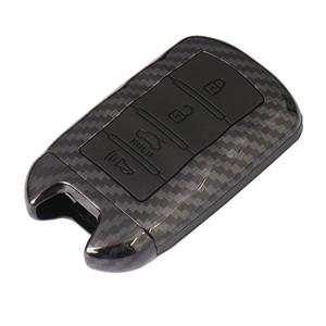 Inteligente Remoto fibra de carbono Caso Key Fob Shell Capa procurar KIA K9 Cadenza K7 inteligente Remote Jacket Key Caso Car-styling Tampa
