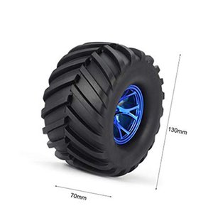4Pcs Wheel Rim Tire Set for 1 10 RC Monster Truck Traxxas HIMOTO HSP HPI Remote Control RC Truggy Car
