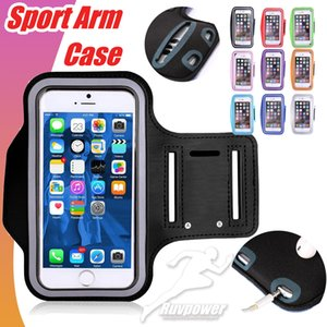 For Iphone 4.7 5.5 inch Waterproof Sports Running Case Armband Running bag Workout Holder Pouch Phone Case for Samsung phone