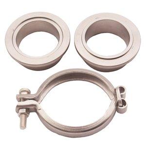 1.5inch 304 aço inoxidável V-Band braçadeira de escape da braçadeira para substituição da flange Braçadeira Kit