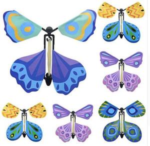 Sihirli Uçan Butterly oyuncak sihirli sahne çocuklar Elektrikli RC Hayvanlar oyuncaklar