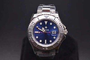 N 116622 orologio di Lusso 40mm * 13mm 2824-3135 del movimiento mira azules 904L refinado relojes de diseño de la banda de reloj de acero súper luminosos de hielo